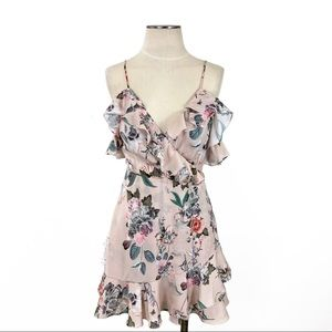 Majorelle- Salsa Dress in Flamingo Pink Size Med